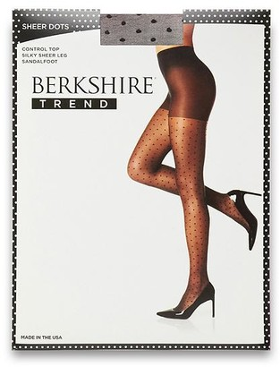 Berkshire Sheer Dots Control Top Pantyhose