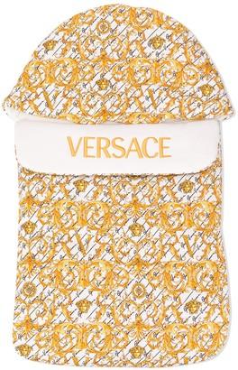 Versace Filigree Print Sleep Bag