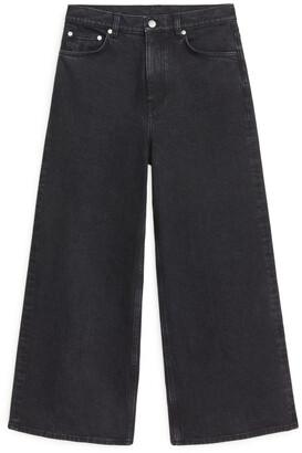 Arket WIDE Cropped Jeans