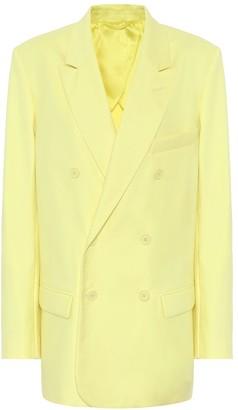 ATTICO The Stretch-cotton blazer