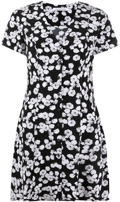 Calvin Klein Jeans Peony Print Mini Dress