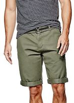 GUESS Men's Kade Flat-Front Shorts