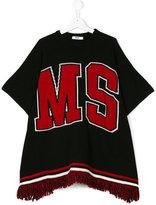 MSGM logo poncho