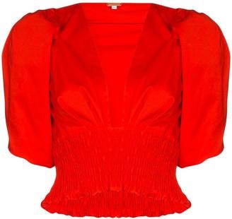 Johanna Ortiz Playful Vision stretch-cotton blouse