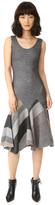 Derek Lam 10 Crosby Godet Tank Dress