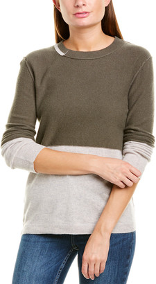 Inhabit Colorblock Cashmere Pullover