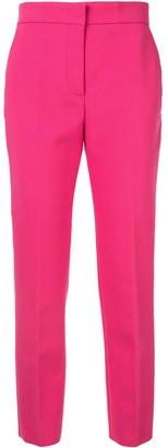 MSGM High-Waisted Tailored Trousers