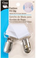 Dritz Fashion Fit Clip - White