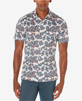 Perry Ellis Men's Big & Tall Floating Floral Print Shirt, A Macy's Exclusive Style