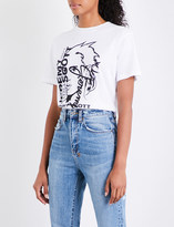 Jeremy Scott Sketch cotton-jersey T-shirt