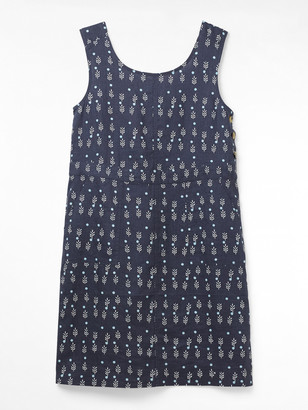 White Stuff Ada Linen Pinny Dress