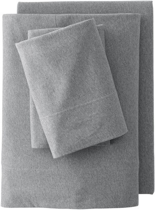Lands' End Cotton Jersey Knit Fitted Sheet or 2-pack Pillowcase Set