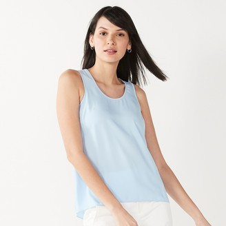 Nine West Women's Silky Layering Tank