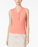 Calvin Klein Twist-Neck Shell