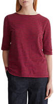 Toast Striped T-Shirt, Red/Black