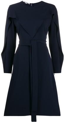 Stella McCartney long-sleeved flared dress
