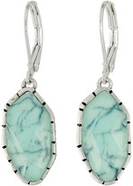 The Sak Irregular Stone Drop Earrings