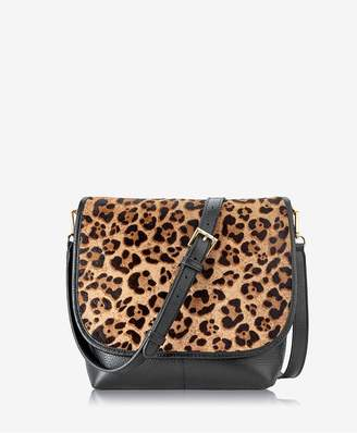 GiGi New York Andie Crossbody In Leopard Haircalf