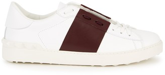 Valentino Open white leather sneakers