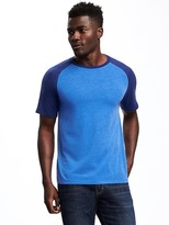 Old Navy Raglan-Sleeve Baseball Tee for Men