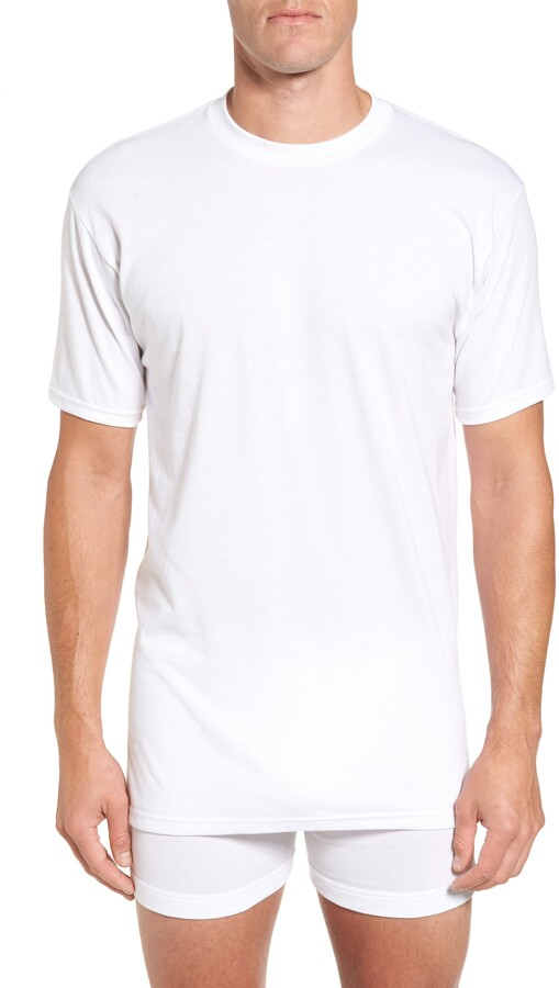 Nordstrom Mens Shop Regular Fit 4-Pack Supima® Cotton T-Shirts