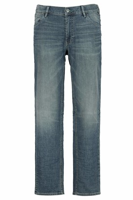 JP 1880 Men's Big & Tall Straight Leg Comfort Waist Stretch Jeans Blue Stone 64 718213 91-64