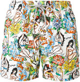 MC2 Saint Barth Gustavia Hula Hoop swim shorts - men - Polyester/Polyamide/Spandex/Elastane - S