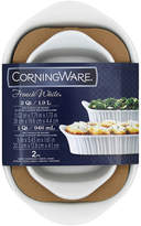 Corningware French White lll 2-pc. Rectangular Bakeware Set