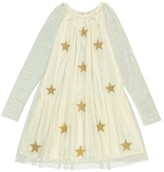 Stella McCartney Star-Print Misty Tulle Dress