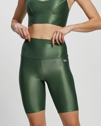 Running Bare Ab Tastic Spin Class Bike Tights
