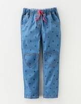 Boden Heart Patch Pants