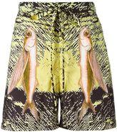 La Perla fish print swim shorts