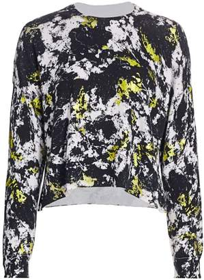 Alice + Olivia Quintin Printed Pullover