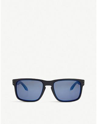 Oakley Matte black square sunglasses