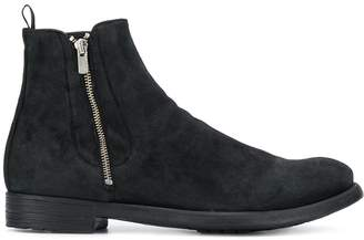 Officine Creative side zipped boots
