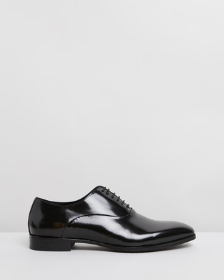 Double Oak Mills Emory Leather Oxfords