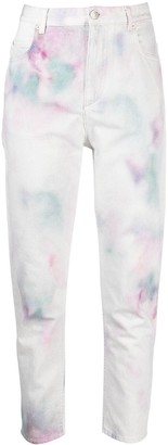 Etoile Isabel Marant Corfy tie-dye jeans