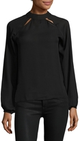 Lucca Couture Women's Riley Solid Shirt