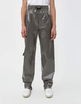 Off-White Off White Jogging Pant in Black Check