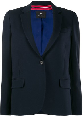Paul Smith narrow lapel blazer