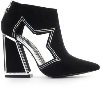 Kat Maconie Black Suede Dusty Ankle Boot