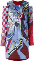Versace art print dress - women - Viscose/Acetate/Silk - 38