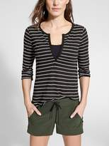 Athleta Wide Stripe Zephyr Top