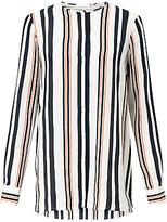 HUGO BOSS BOSS Relliana Stripe Silk Blouse, Multi