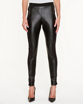 Le Château Double Knit & Leather-Like Legging