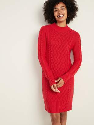 Old Navy Cable-Knit Sweater Dress for Women