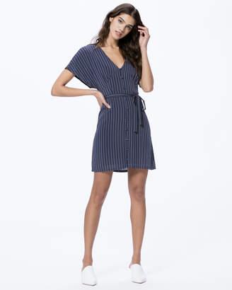 Paige CHERELLE DRESS-RICH NVY MULT- PARADISE STRIPE