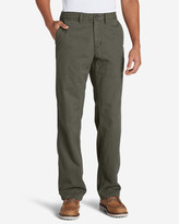 Eddie Bauer Men's Flannel-Lined Chinos