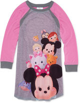 Novelty Licensed Tsum Tsum Long-Sleeve Dorm Pajama Shirt - Girls
