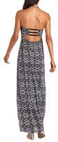 Charlotte Russe Bar-Back Printed Maxi Dress